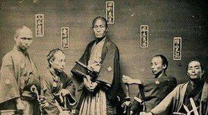 昔の侍画像