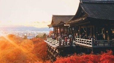 清水寺、美しい国、日本