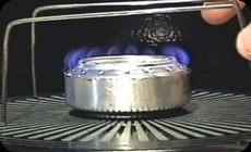 アルミ缶でアルコールコンロストーブとロケットストーブの仕組み (1)