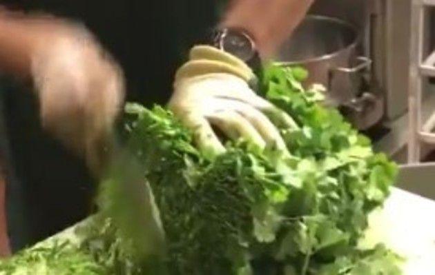 野菜のみじん切り