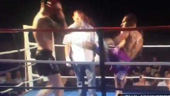 ミッキーロークや衝撃KO格闘技MMA
