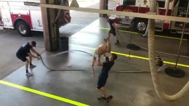 消防士の朝の日課