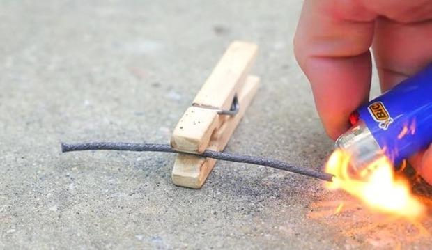 導火線の作り方