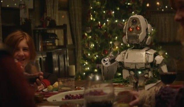 ロボットのクリスマス