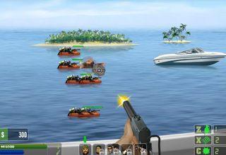 スピードボートシューティング