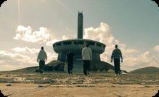 パルクールとブルガリアの廃墟