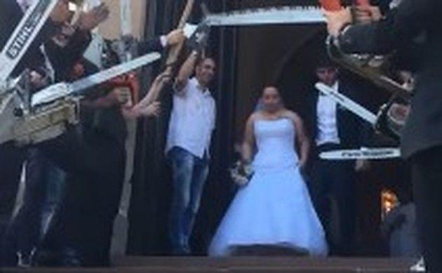 チェインソーの結婚式