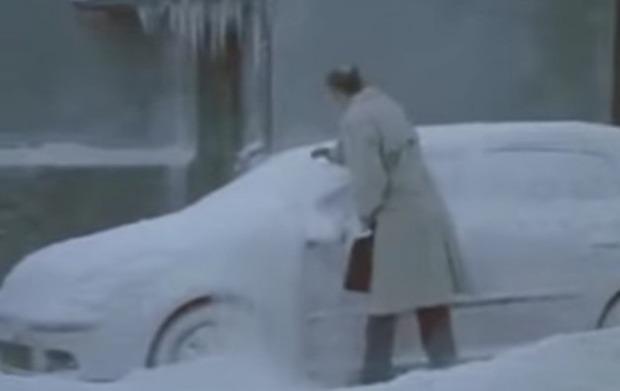 雪の日の失敗