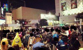 渋谷のハロウィンパーティー