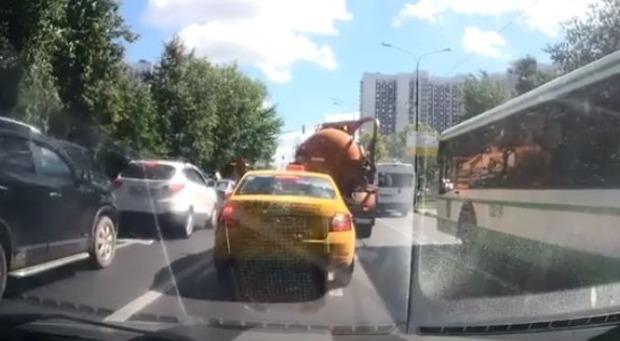 バキュームカーの爆発