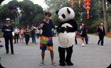 中国でダンス