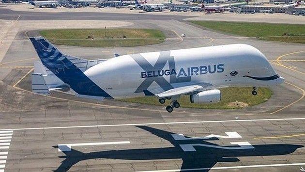 エアバスのベルーガXL飛行機