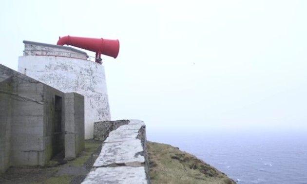 灯台の汽笛