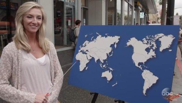 アメリカ人は世界地図を知らない