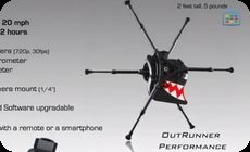 キモい走り方するロボット