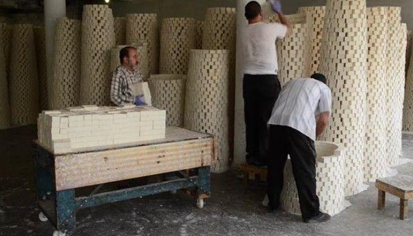 パレスチナの石鹸作り