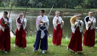 ロシアの忍者学校