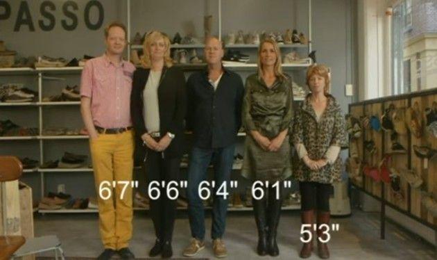 なぜオランダ人は背が高いのか?