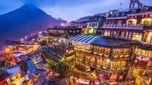 神隠しに合いそうな台湾の街