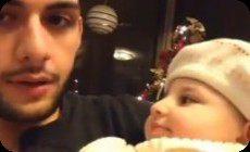 パパのボイパと赤ちゃん