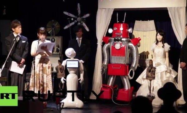 ロボットの結婚式 (2)