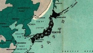 大日本帝国やその他の国の植民地の図