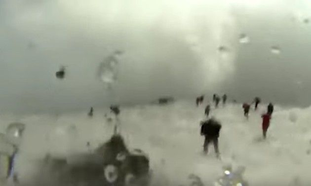 エトナ火山の噴火