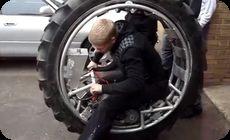 自作のガンツバイク